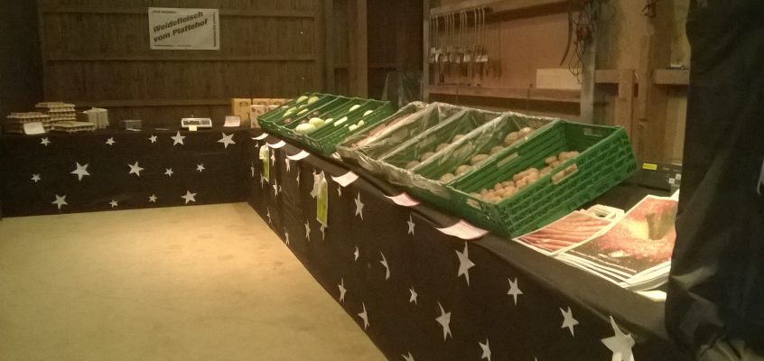 2. Gemüseverkaufstag auf dem Plattehof am Samstag, 19. Dezember