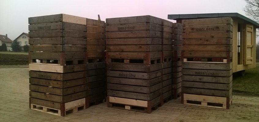 Paloxen aus Holz sinnvoll einsetzen und Leerfahrten vermeiden